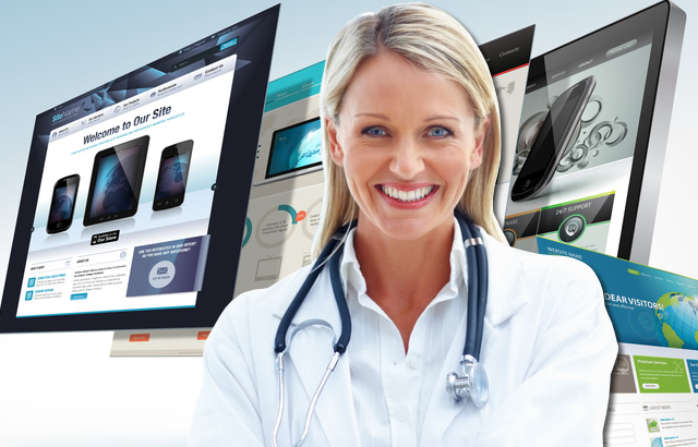 Custom Medical Website Design for Doctors