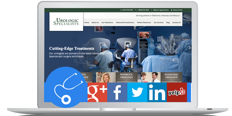 Urology Website Design