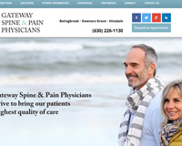 Pain Specialist Website Design