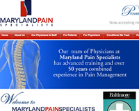 Pain Specialists Towson Maryland